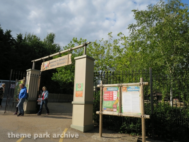 Explorer Gate at Chessington World of Adventures Resort