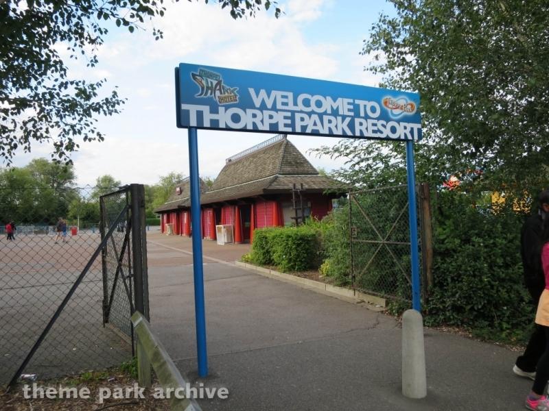 Parking at Thorpe Park