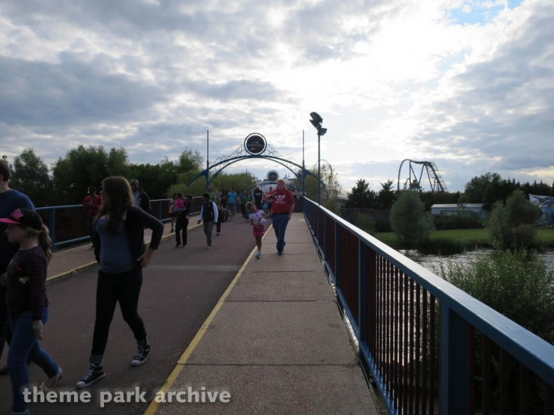 Entrance at Thorpe Park