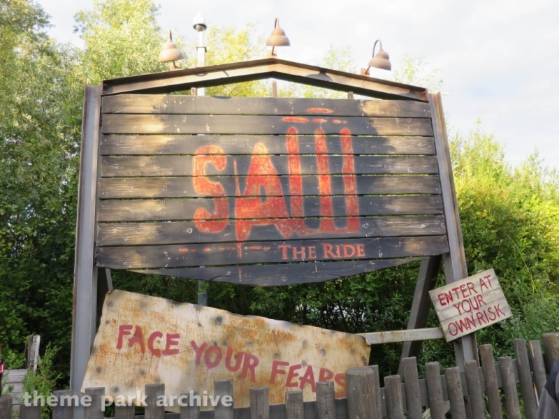 SAW The Ride at Thorpe Park
