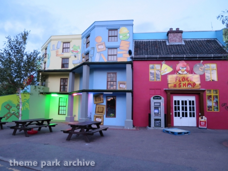 Angry Birds Land at Thorpe Park