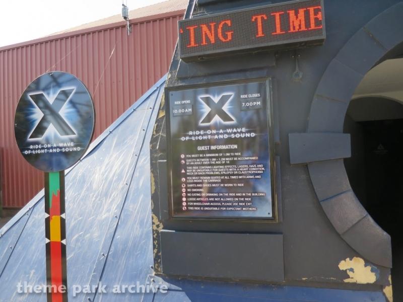 X at Thorpe Park