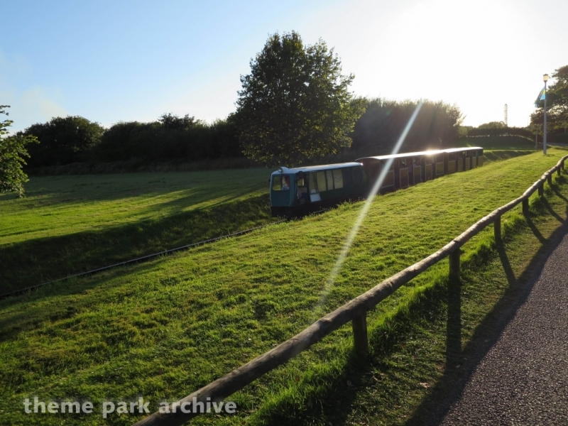Train at Oakwood Theme Park