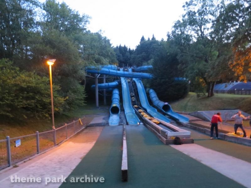 Snake River Falls at Oakwood Theme Park
