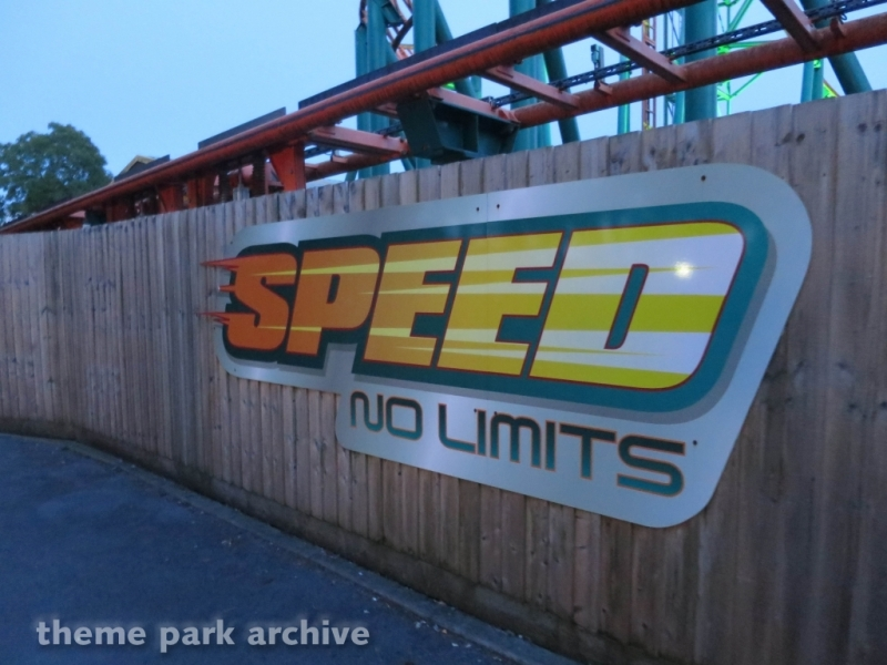 Speed at Oakwood Theme Park
