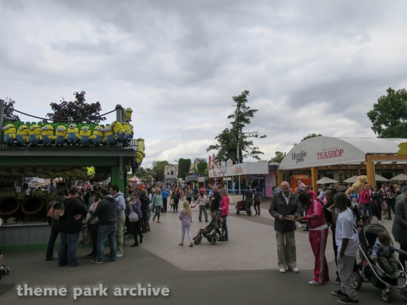 Aerial Park at Drayton Manor