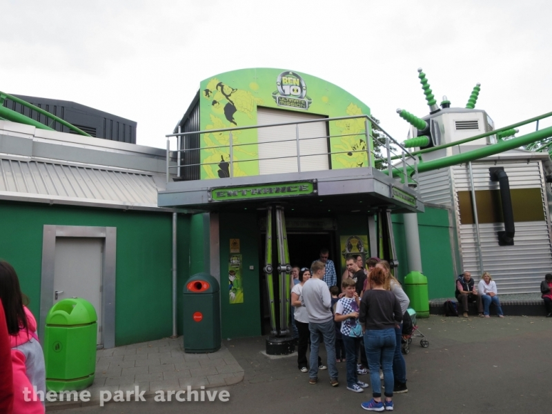 Ben 10 Ultimate Mission at Drayton Manor
