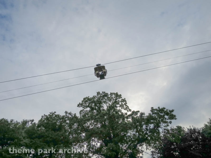 Chairlift at Drayton Manor