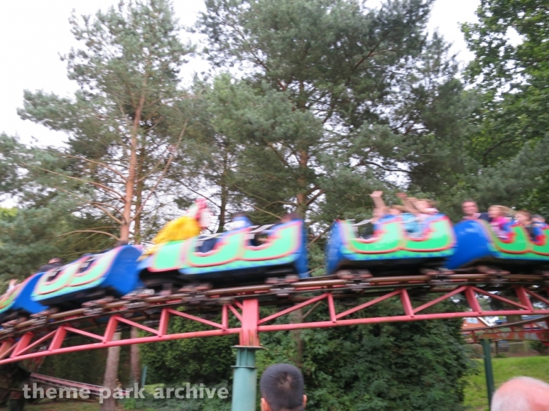 Buffalo Roller Coaster at Drayton Manor