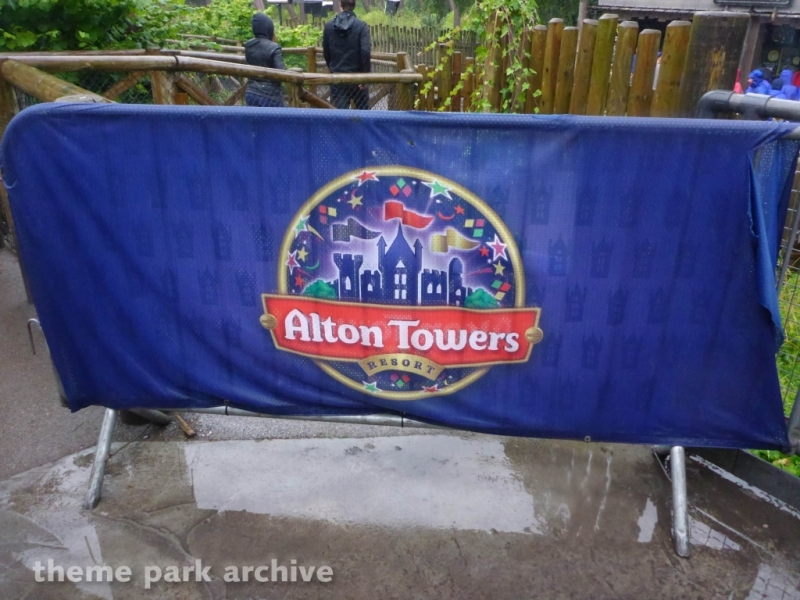 Dark Forest at Alton Towers