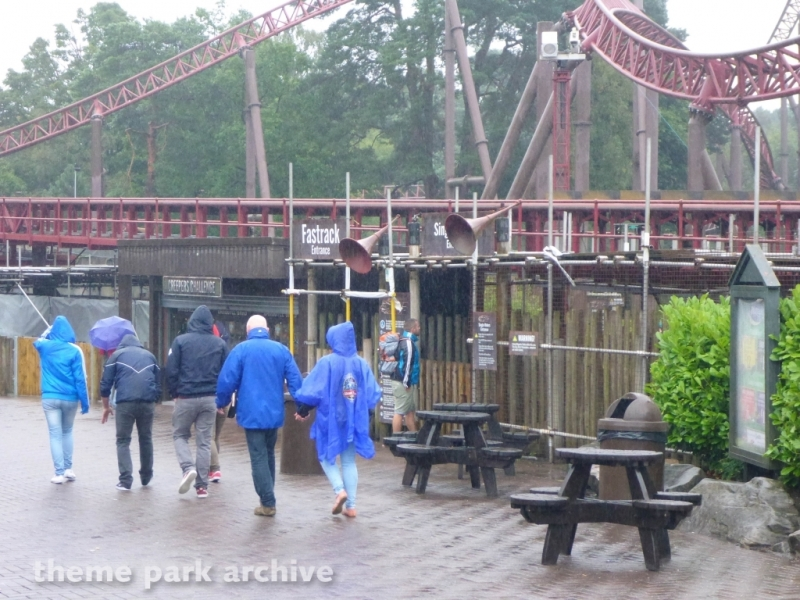 Rita at Alton Towers