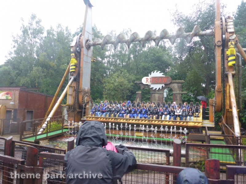 Ripsaw at Alton Towers