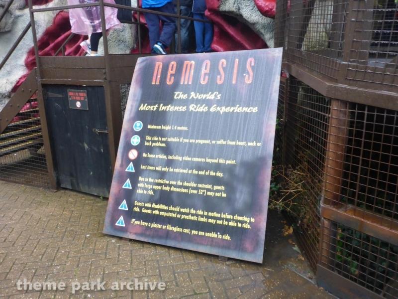 Nemesis at Alton Towers