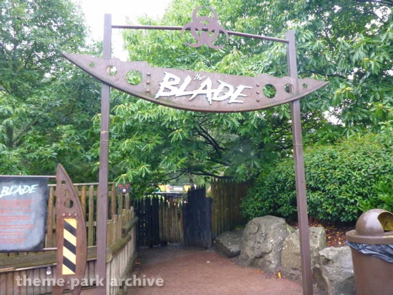The Blade at Alton Towers
