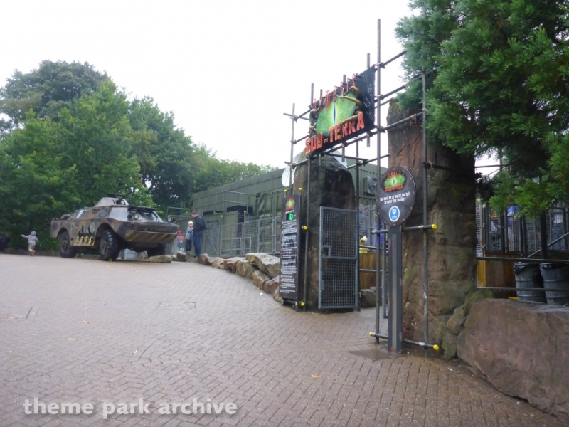 Nemesis Sub Terra at Alton Towers