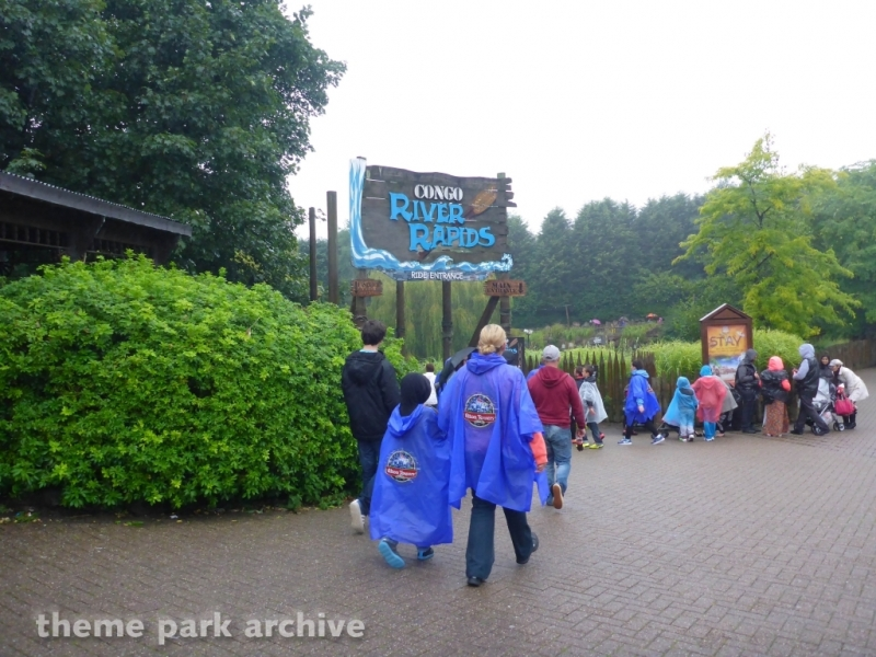 Congo River Rapids at Alton Towers