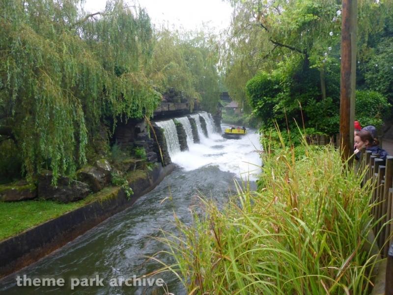 Congo River Rapids at Alton Towers