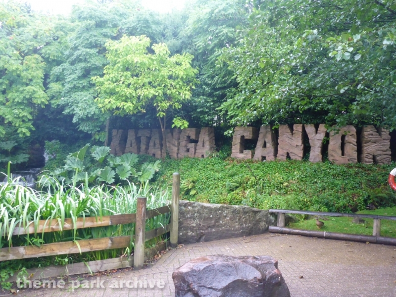 Katanga Canyon at Alton Towers