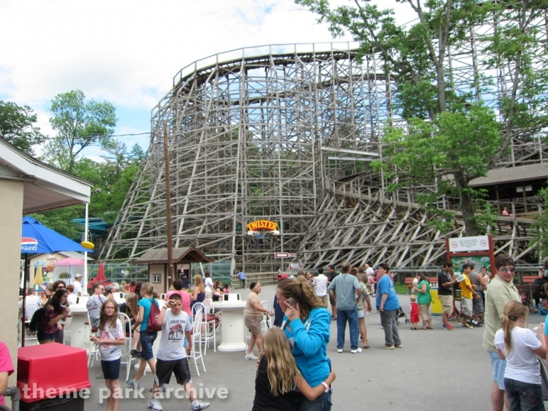 Twister at Knoebels Amusement Resort