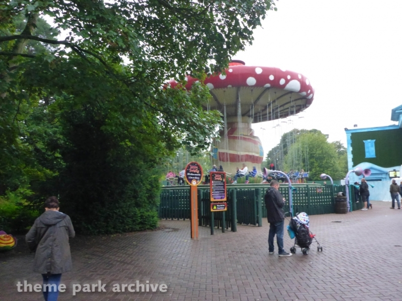 Twirling Toadstool at Alton Towers