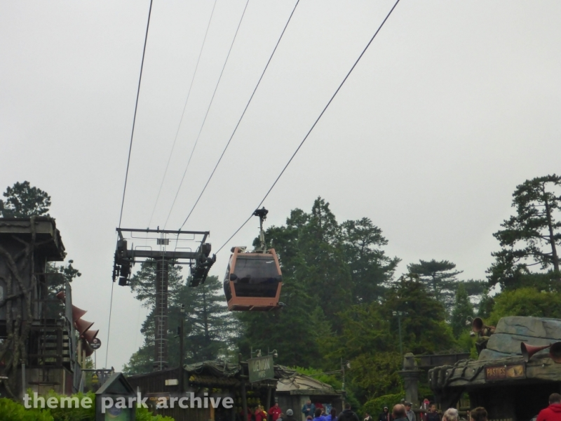 Sky Ride at Alton Towers