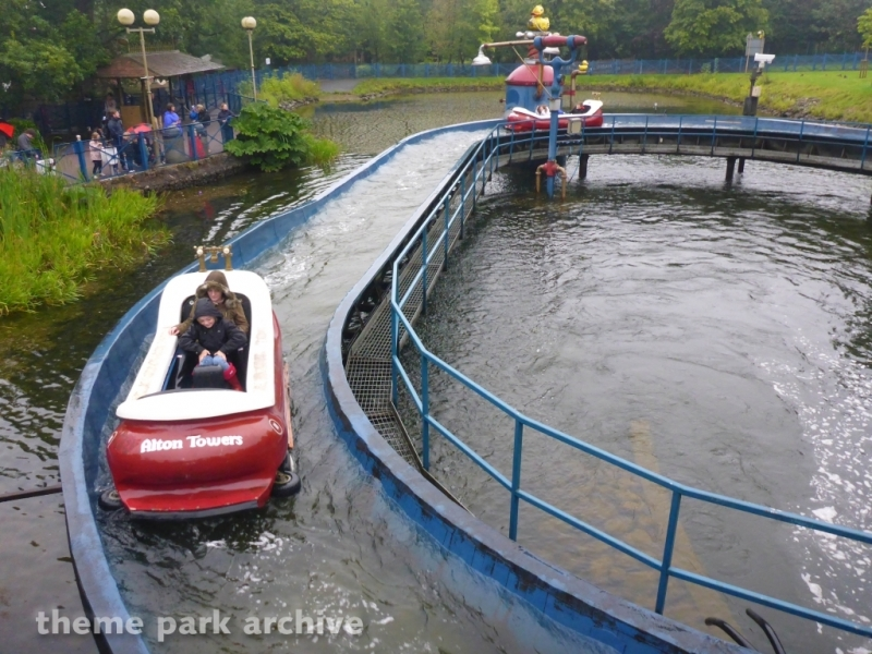 The Flume at Alton Towers