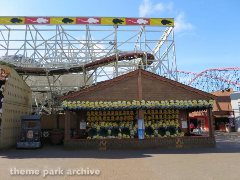 Wild Mouse at Blackpool Pleasure Beach