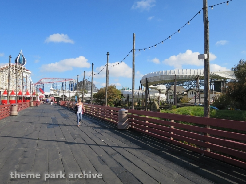 Avalanche at Blackpool Pleasure Beach