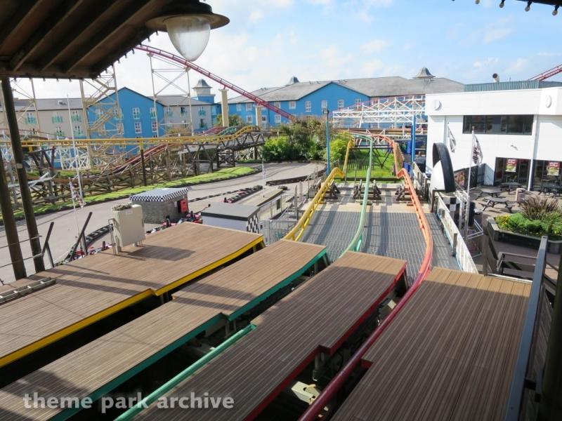 Steeplechase at Blackpool Pleasure Beach