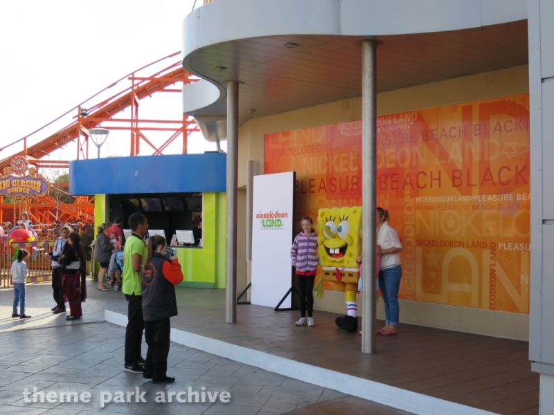 Nickelodeon Land at Blackpool Pleasure Beach