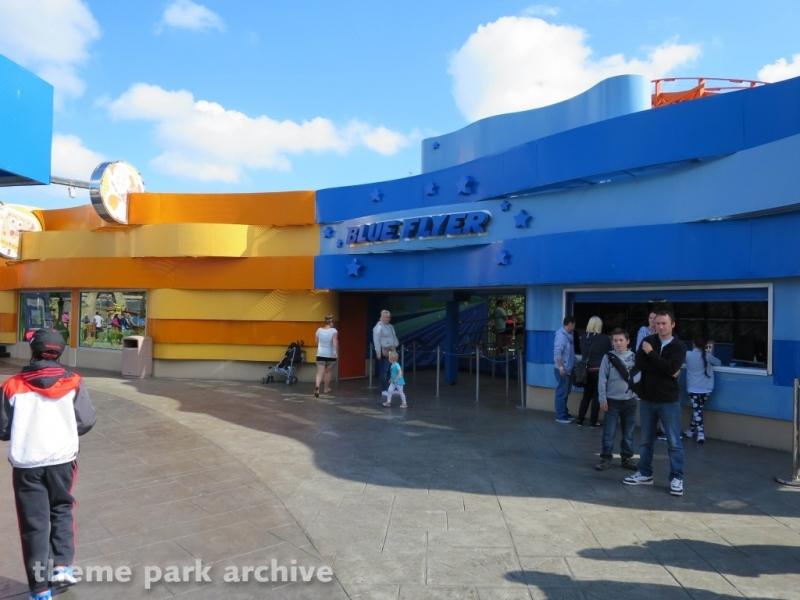 Blue Flyer at Blackpool Pleasure Beach