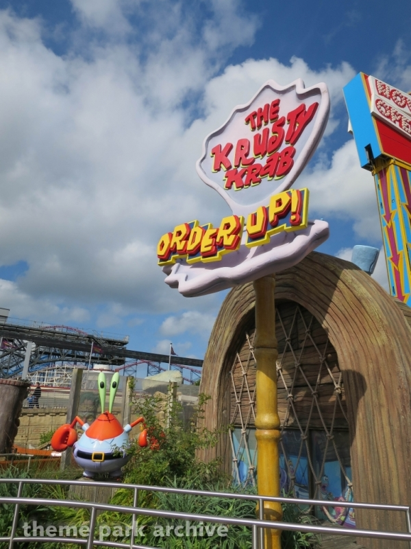Krusty Crab Order Up at Blackpool Pleasure Beach