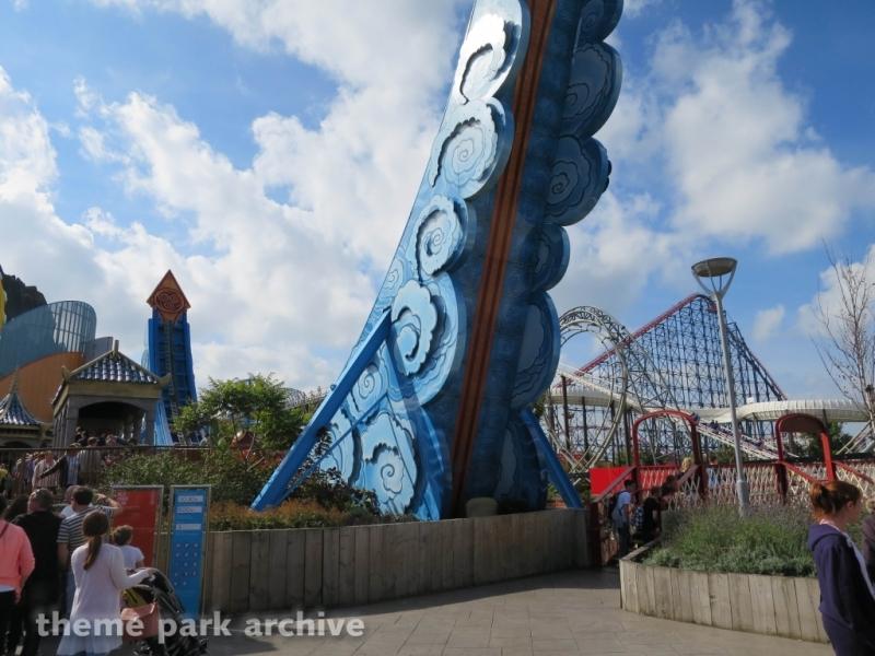 Avatar Airbender at Blackpool Pleasure Beach