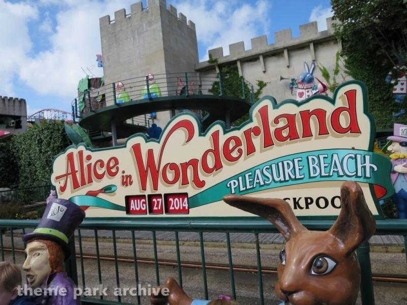 Alice in Wonderland at Blackpool Pleasure Beach