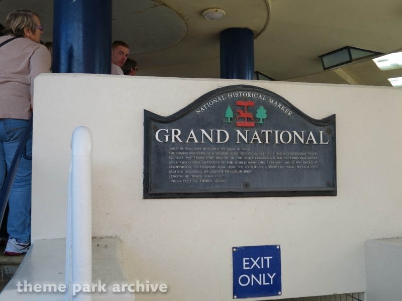 Grand National at Blackpool Pleasure Beach
