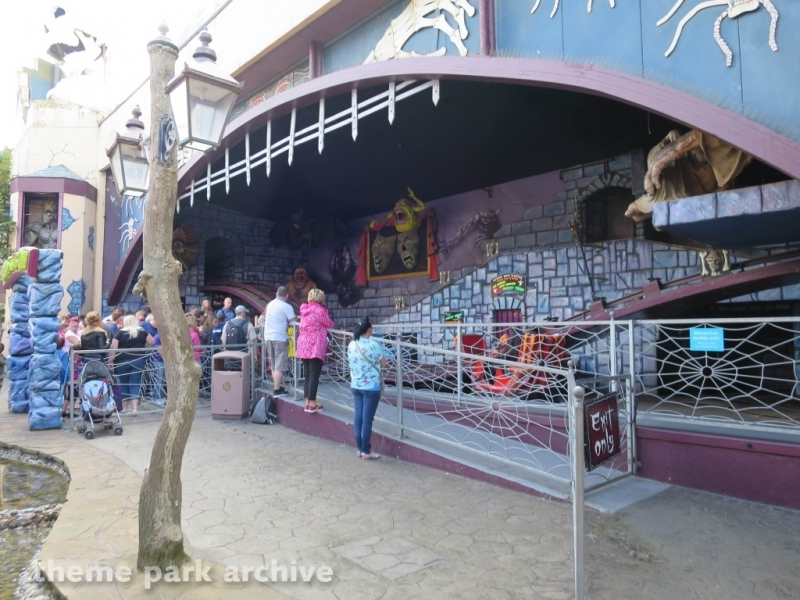 Ghost Train at Blackpool Pleasure Beach