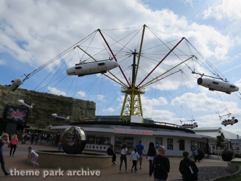 Flying Machines at Blackpool Pleasure Beach