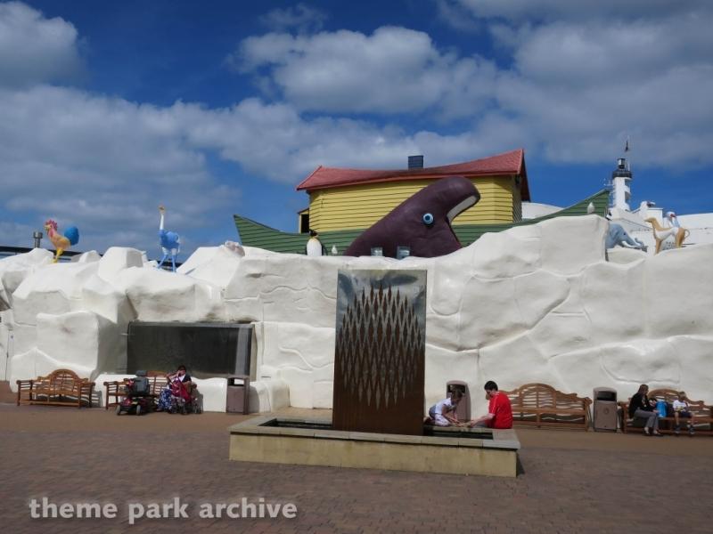 Entrance at Blackpool Pleasure Beach