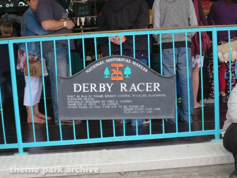 Derby Racer at Blackpool Pleasure Beach