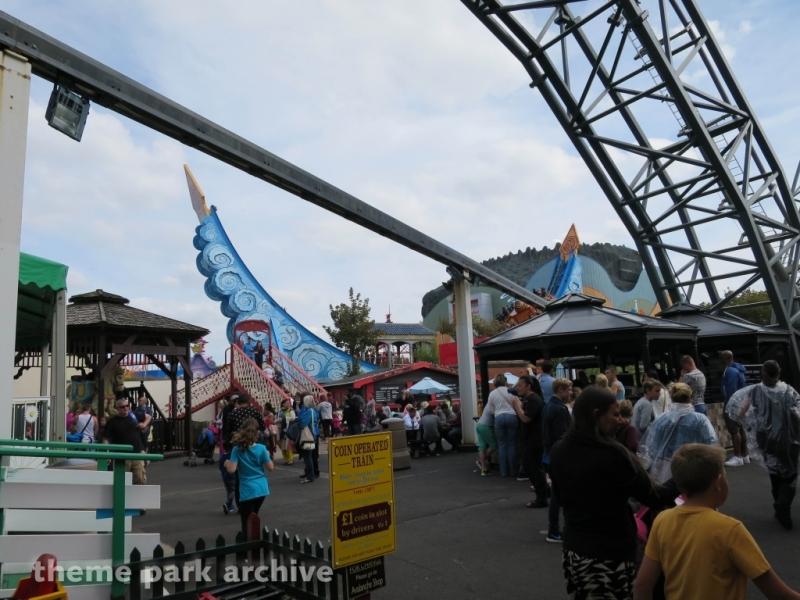 Thompson Vintage Carousel at Blackpool Pleasure Beach
