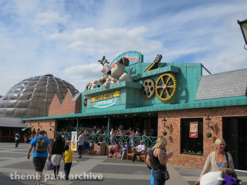 Wallace & Grommit Thrill O Matic at Blackpool Pleasure Beach