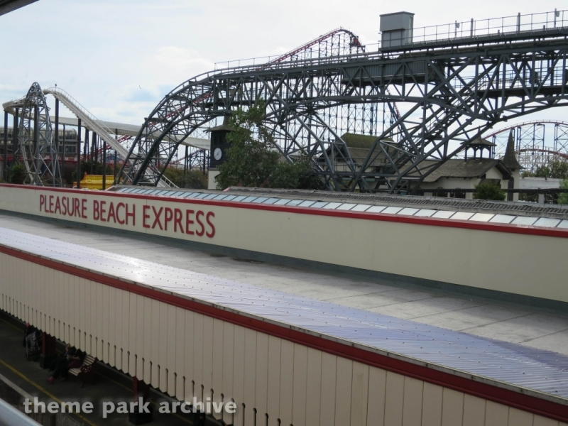 Pleasure Beach Express at Blackpool Pleasure Beach