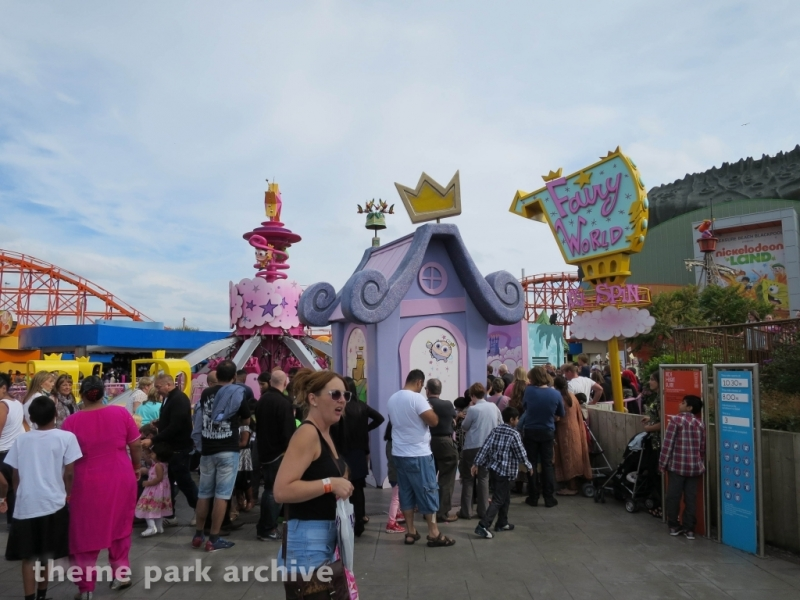 Nickelodeon Land at Blackpool Pleasure Beach
