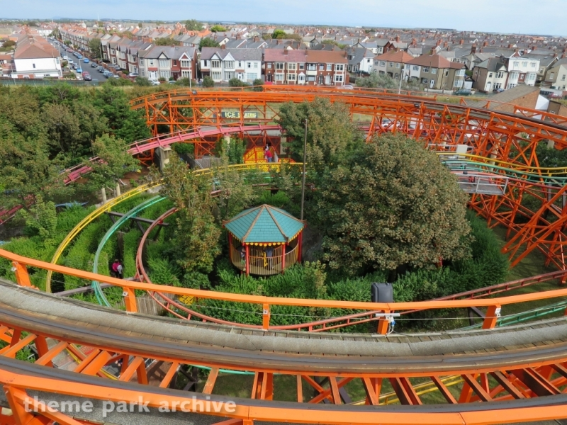 Chinese Puzzle Maze at Blackpool Pleasure Beach
