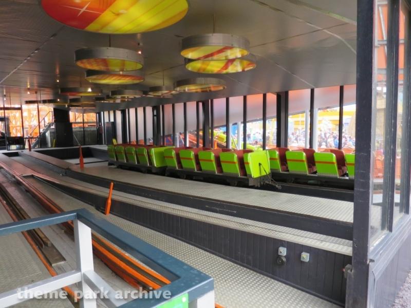 Nickelodeon Streak at Blackpool Pleasure Beach