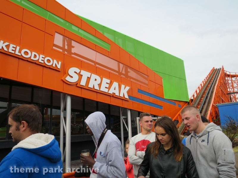 Nickelodeon Streak at Blackpool Pleasure Beach