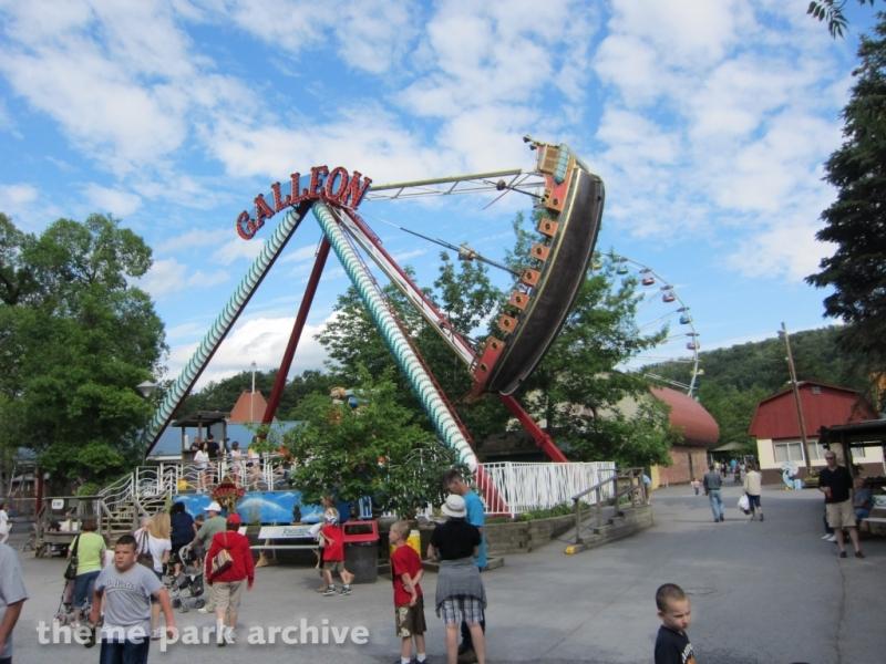 Galleon at Knoebels Amusement Resort