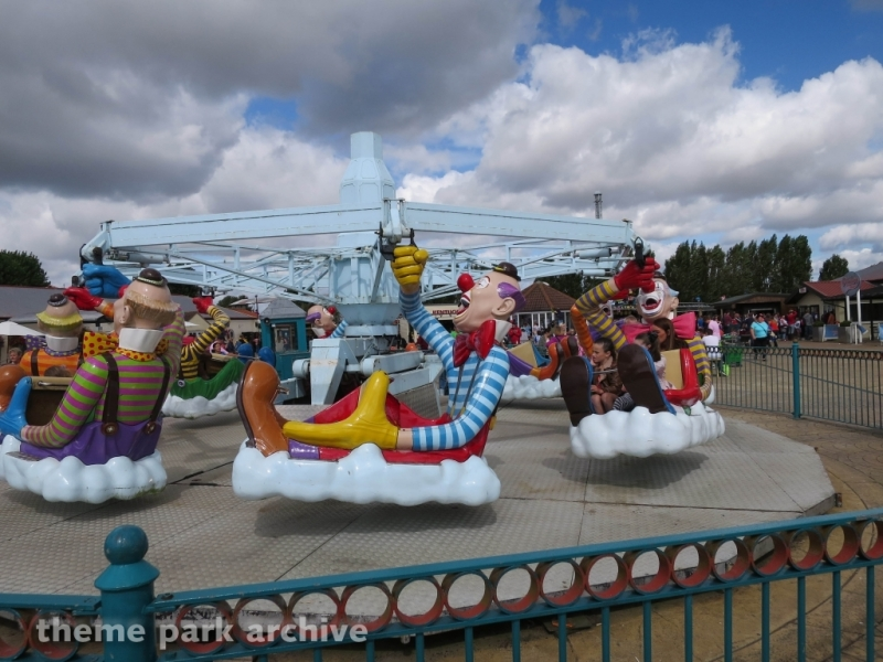 Flying Clowns at Flamingo Land