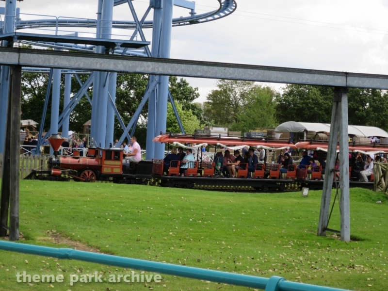 Train at Flamingo Land