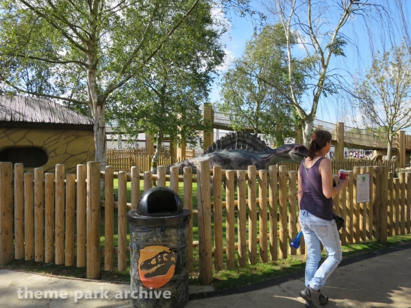 Dino Stone Park at Flamingo Land